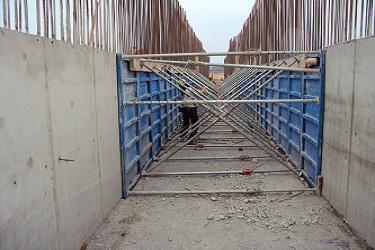 Construction des galeries tunnels et voiles de soutènement à RAS EL MA - Fès