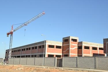 Construction d'une usine de fabrication de tresses et broderies à RAS EL MA - Fès