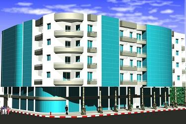 Construction d'un immeuble en sous-sol et R+4 à AGDAL -Fès