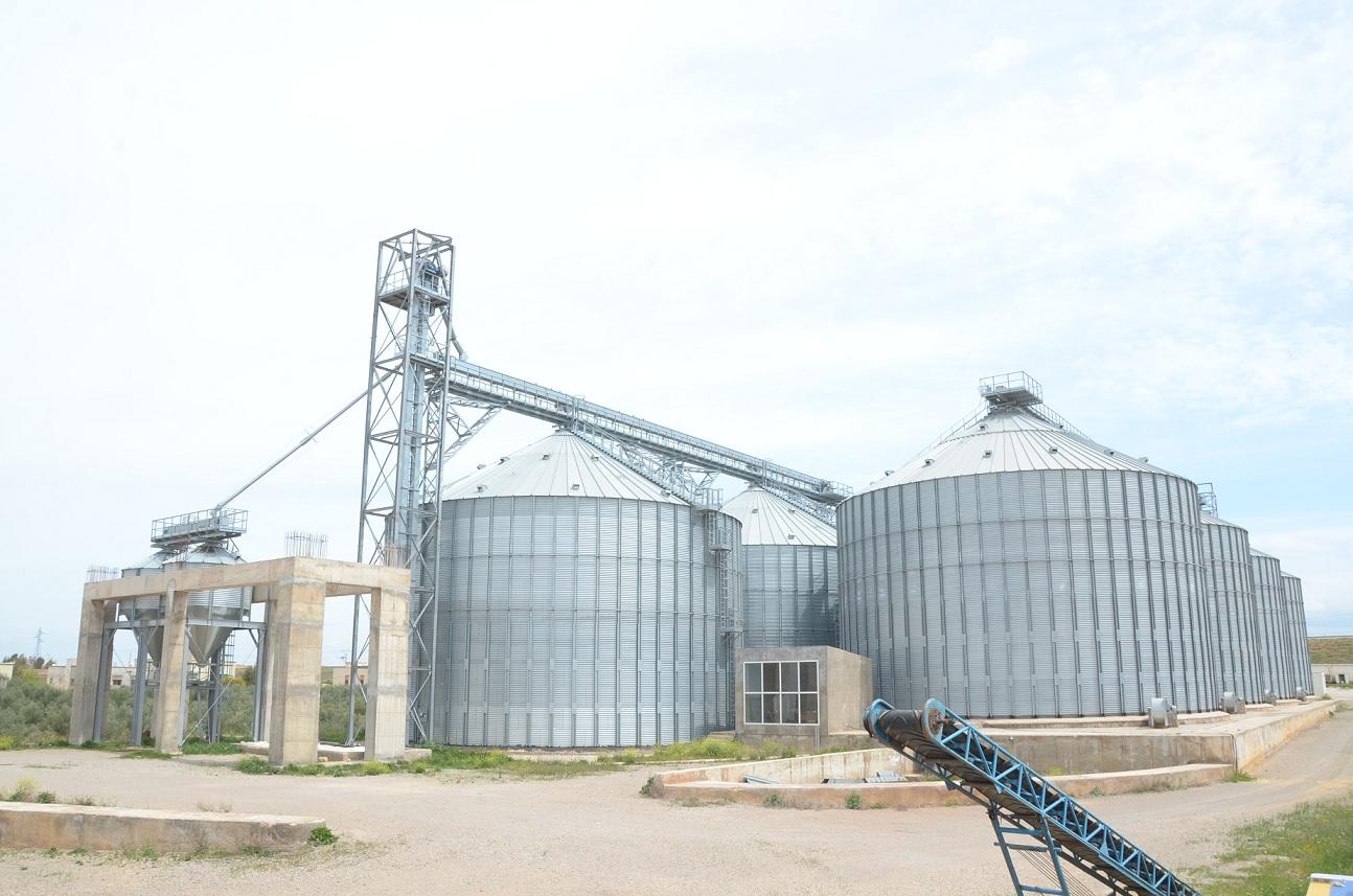 Construction d'une unité de stockage des céréales et légumineuses à RAS EL MA - Fès