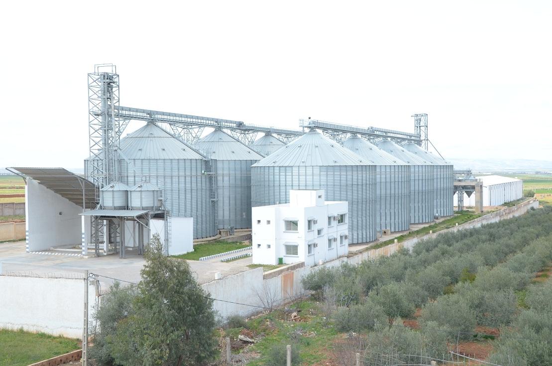 Construction d'un dépôt de stockage des céréales et légumineuses à RAS EL MA - Fès